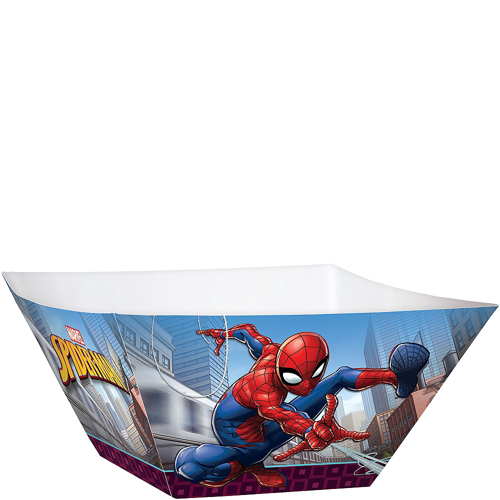 Spider-Man Webbed Wonder Serving Bowls 3ct Image #1