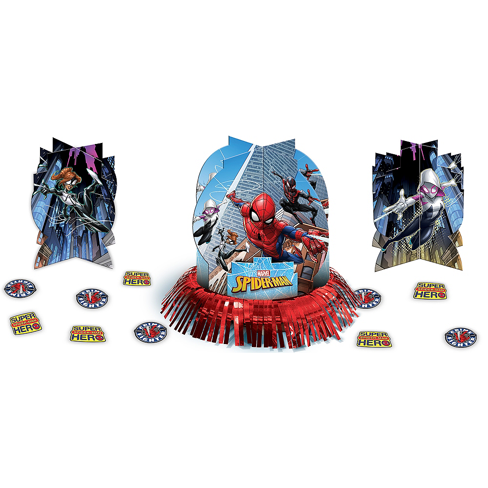 Spider-Man Webbed Wonder Table Decorating Kit 23pc Image #1