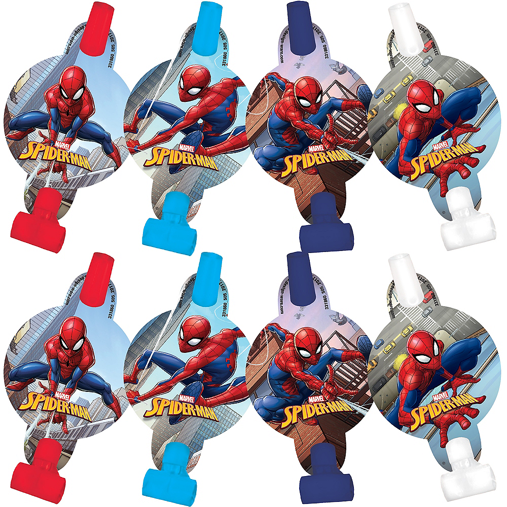 Spider-Man Webbed Wonder Blowouts 8ct Image #1