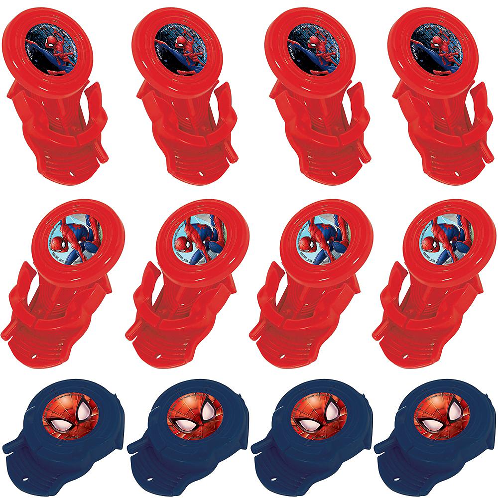 Spider-Man Webbed Wonder Disc Shooters 12ct Image #1