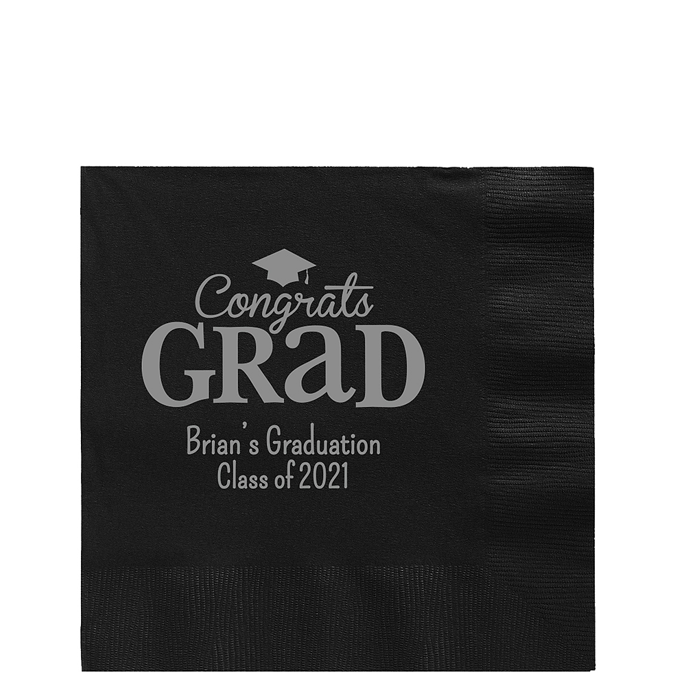 Personalized Graduation Lunch Napkins  Image #1