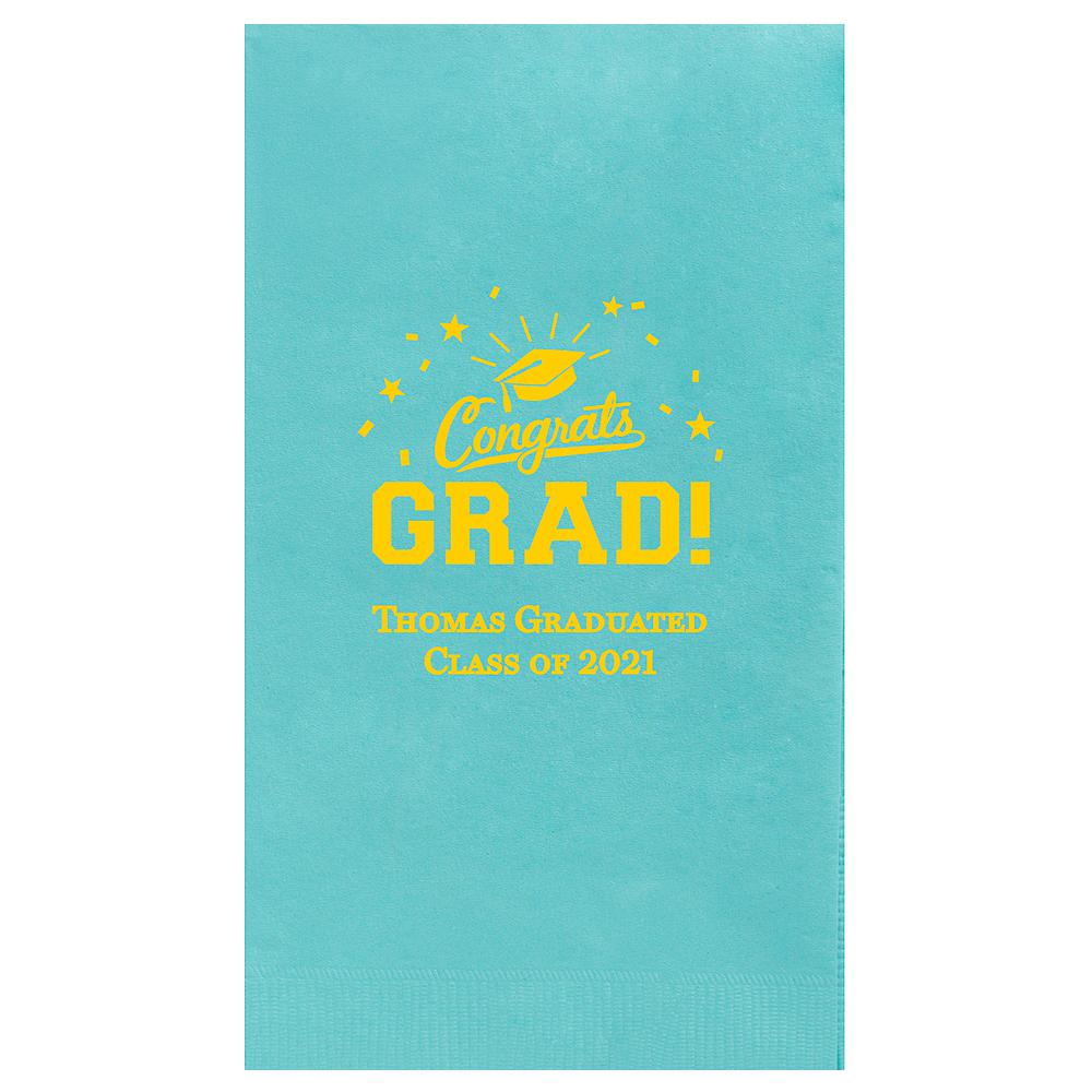 Personalized Graduation Guest Towels  Image #1
