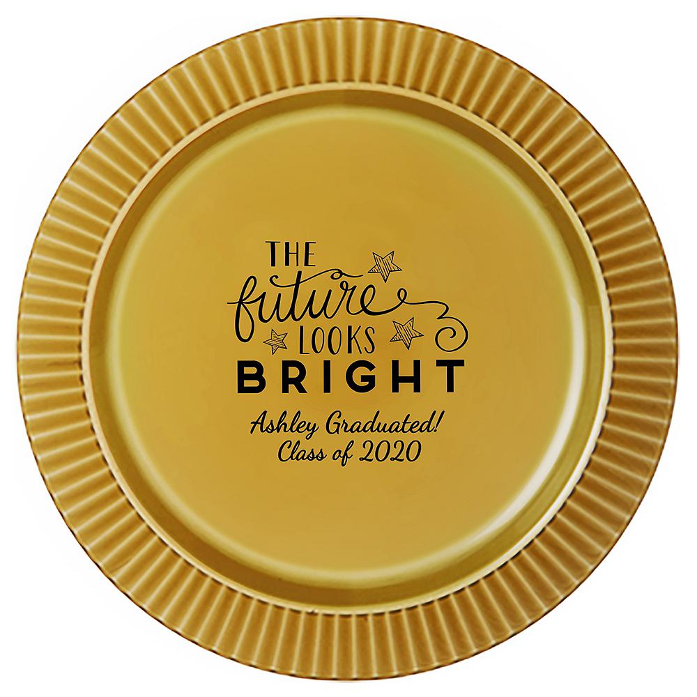 Personalized Graduation Premium Plastic Dinner Plates  Image #1