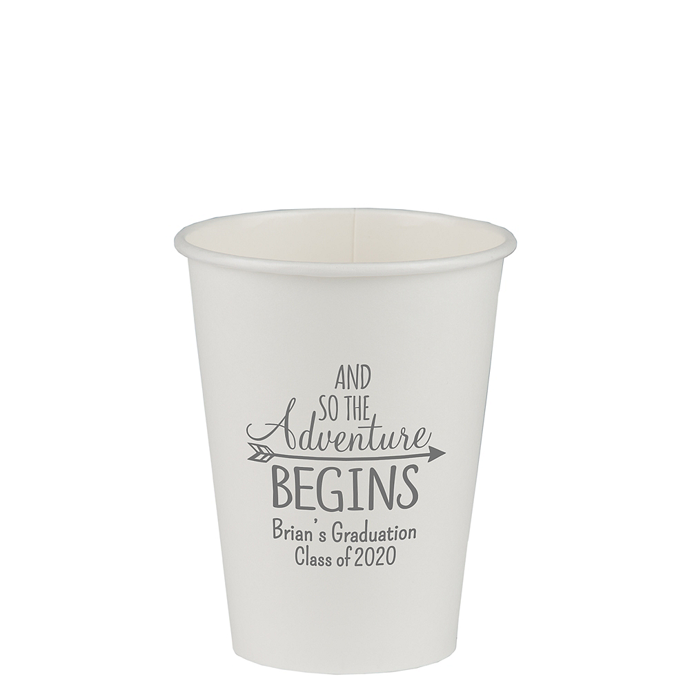 Personalized Graduation Insulated Paper Cups 12oz  Image #1
