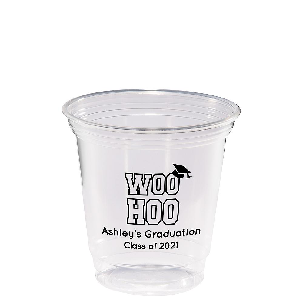Personalized Graduation Plastic Party Cups 12oz  Image #1