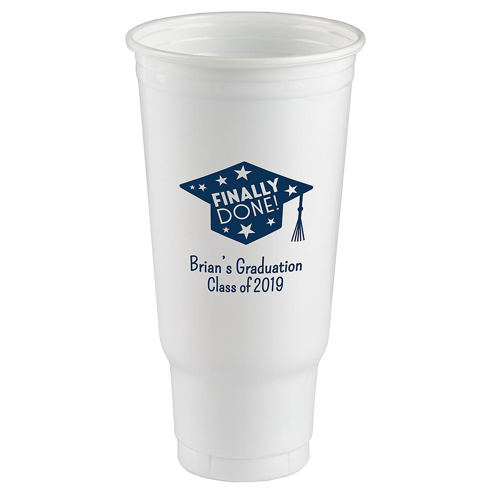 Personalized Graduation Plastic Party Cups 44oz  Image #1