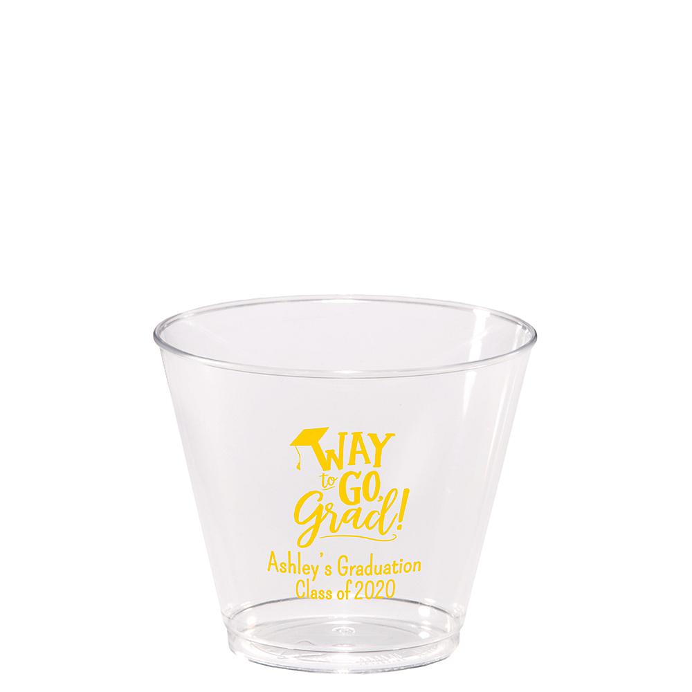 Personalized Graduation Hard Plastic Cups 5oz  Image #1