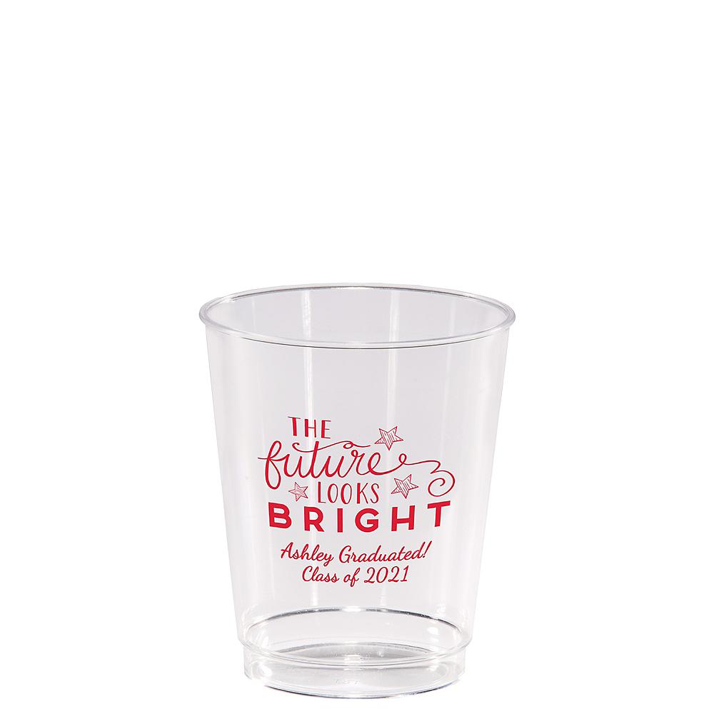 Personalized Graduation Hard Plastic Cups 8oz  Image #1