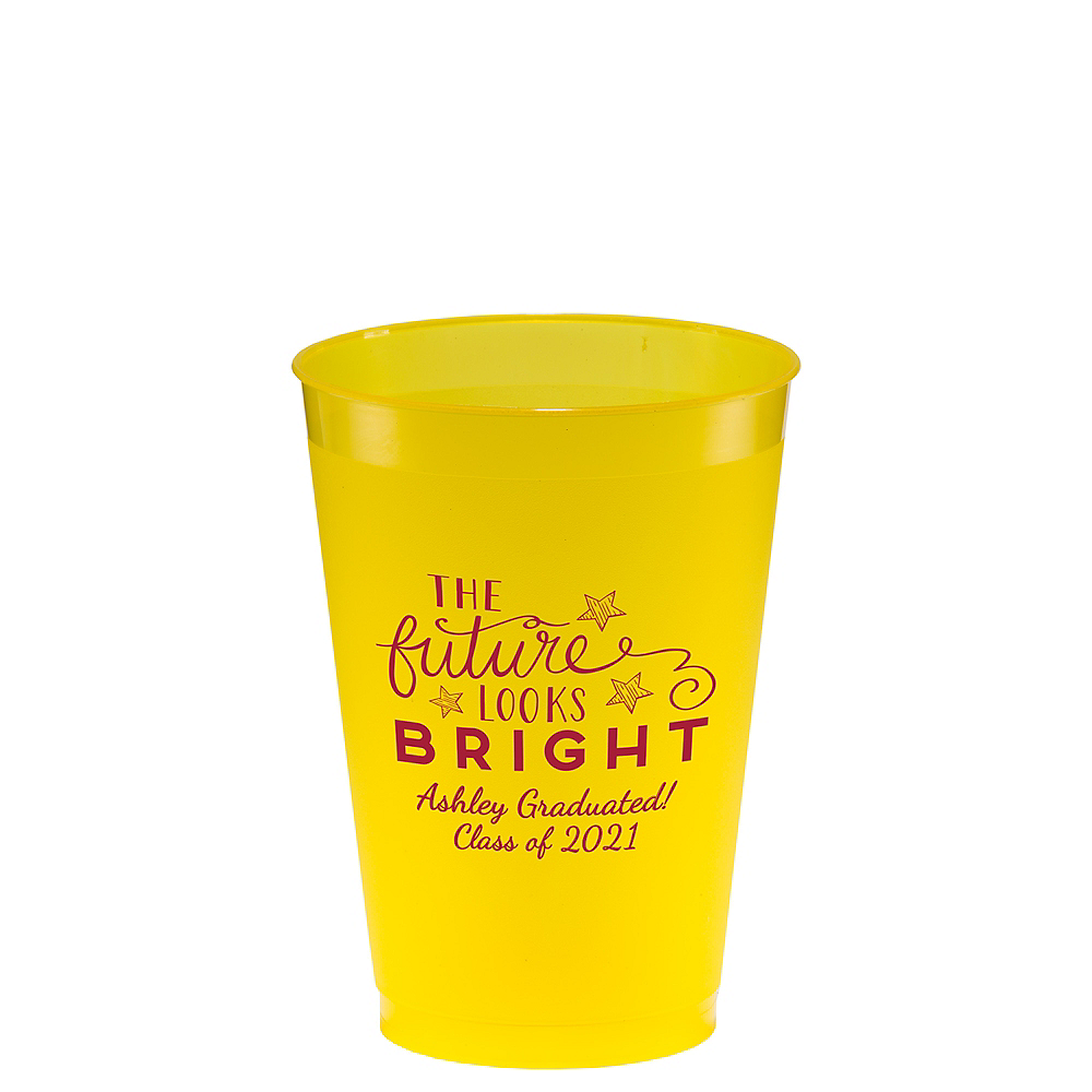 Nav Item for Personalized Graduation Plastic Shatterproof Cups 12oz Image #1