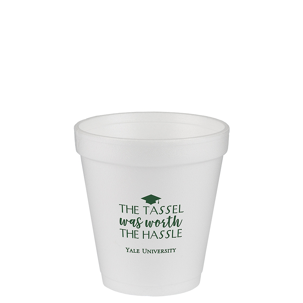 Nav Item for Personalized Graduation Foam Cups 10oz    Image #1