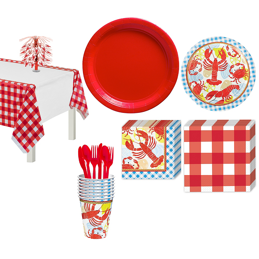 Seafood Fest Basic Party Kit for 16 Guests Image #1