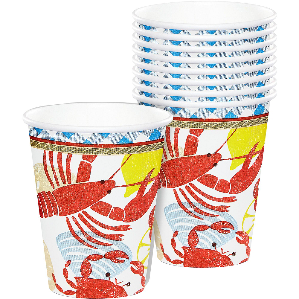 Seafood Fest Basic Party Kit for 16 Guests Image #9