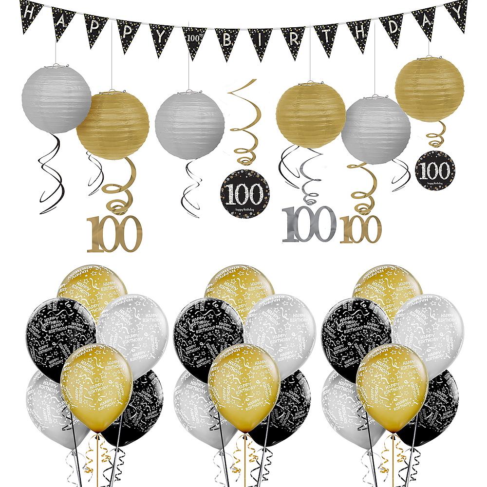 100th Birthday Sparkling Celebration Decorating Kit Party City