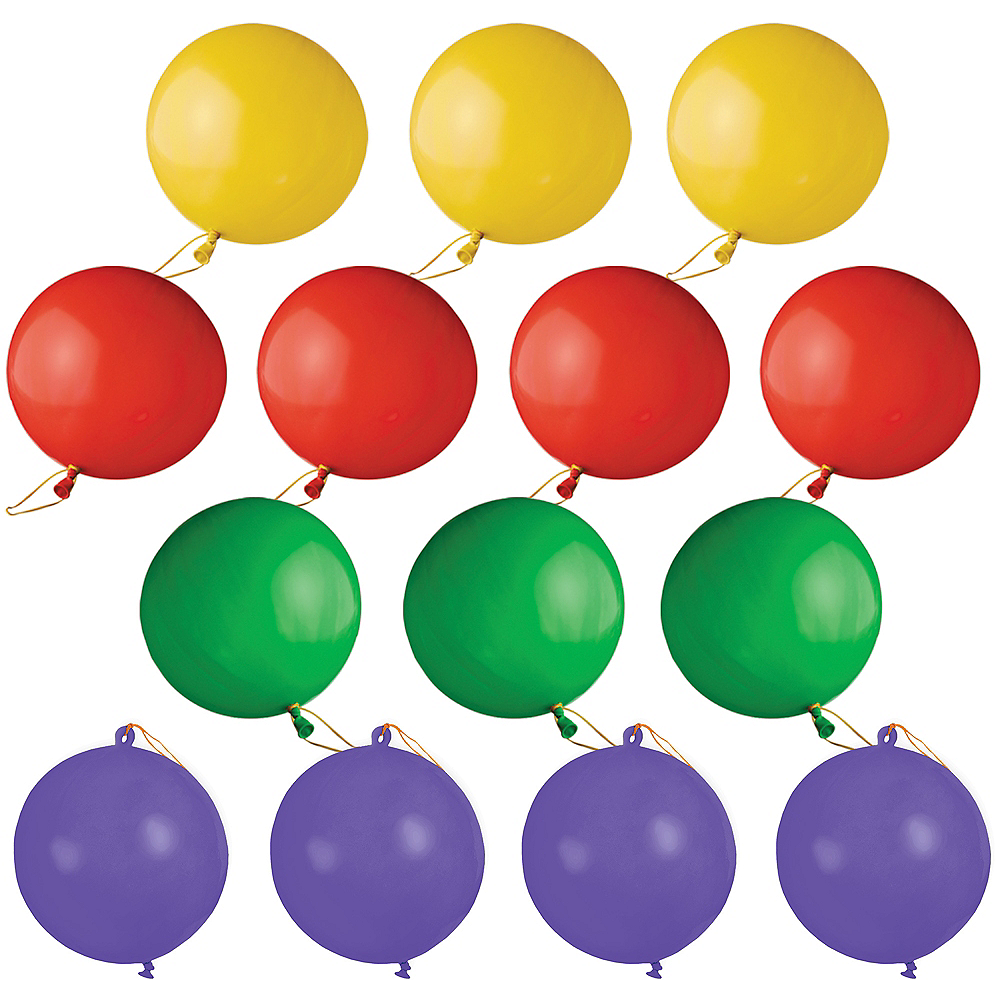 Bright Punch Balloons 14ct Image #1