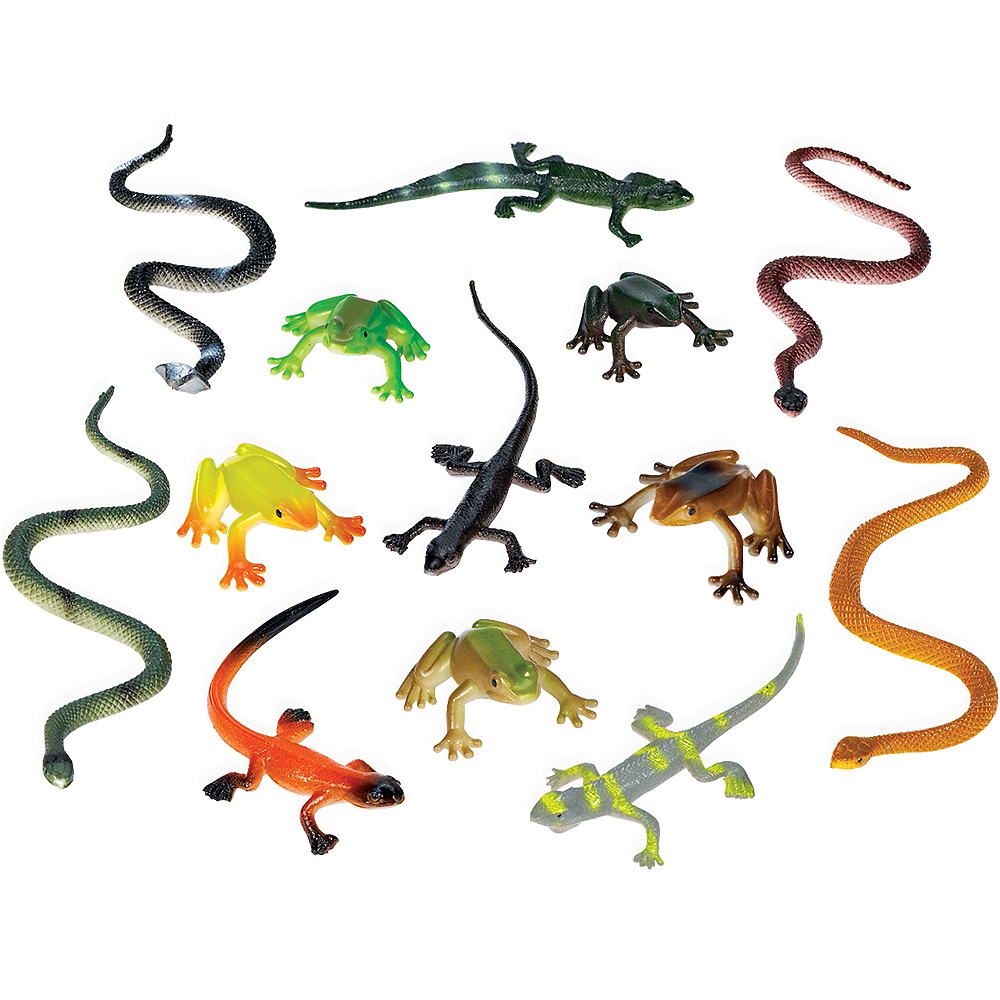 Reptile Favor Pack 12pc Image #1