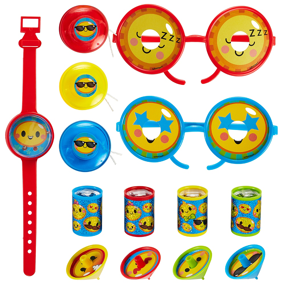 Smiley Favor Pack 100pc Image #1