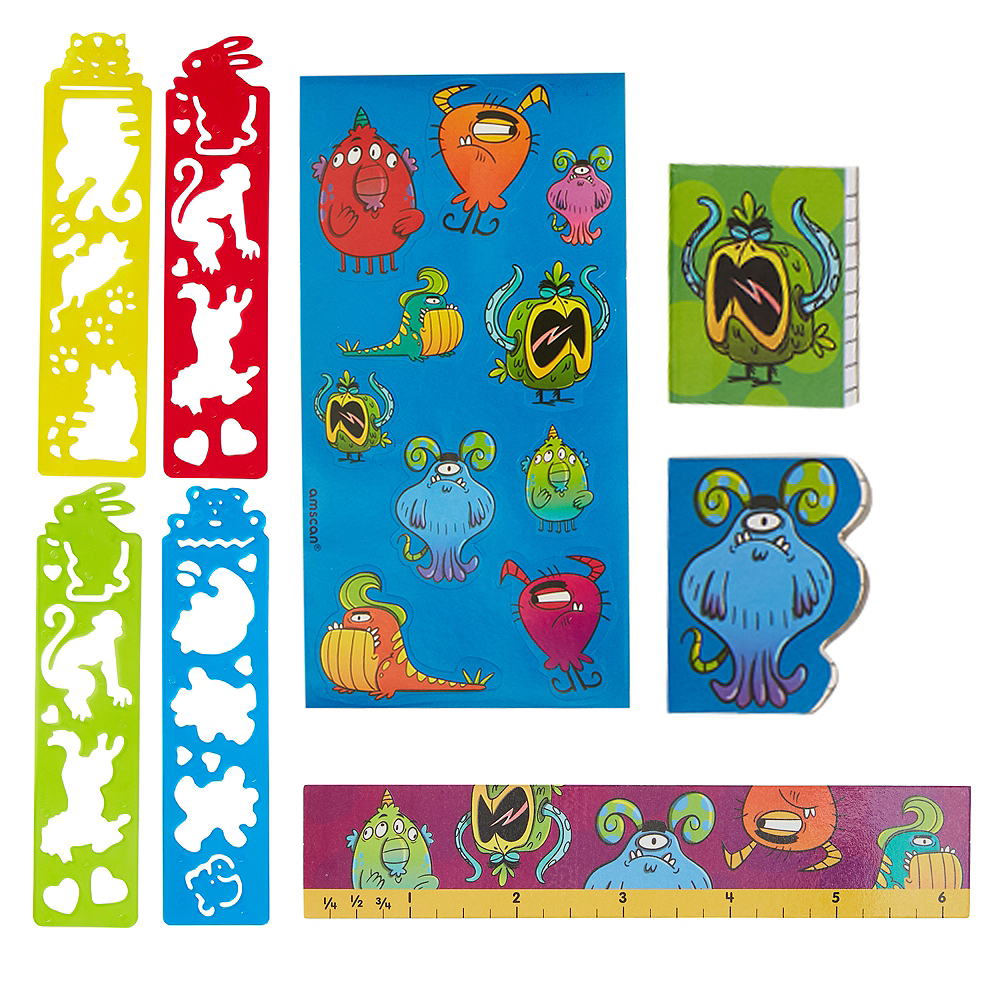 Stationery Favor Pack 100pc Image #1