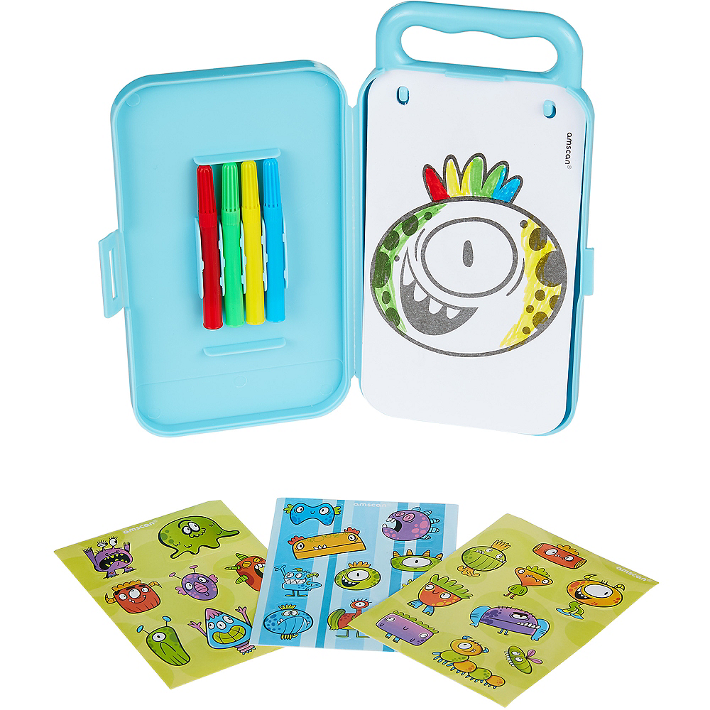 Silly Monsters Sticker Activity Box Image #2