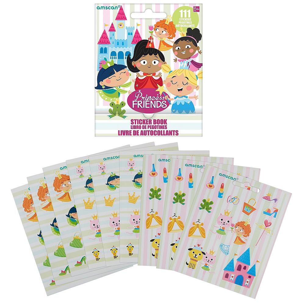 Princess Sticker Book 9 Sheets Image #1