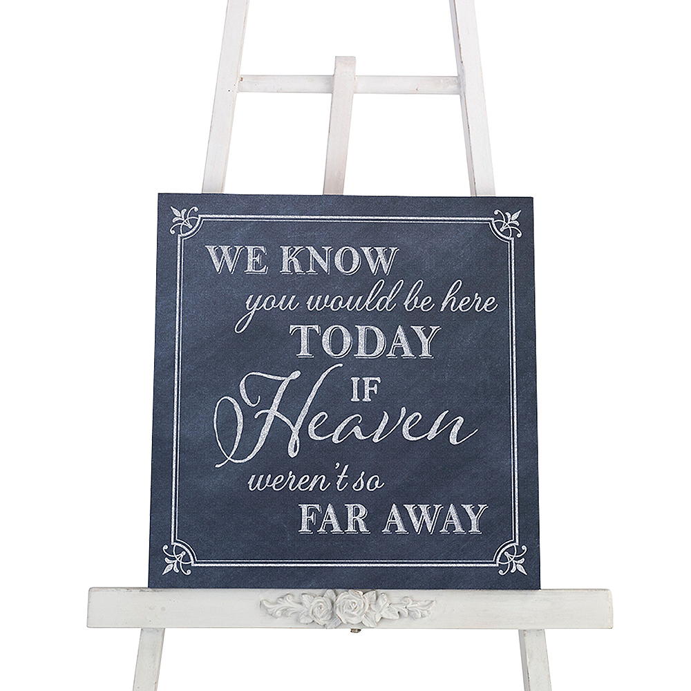 Here Today Wedding Sign Image #3
