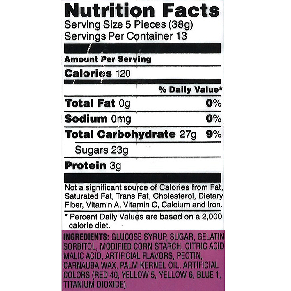 Frankford Gummy Body Parts Candy 60ct Image #2