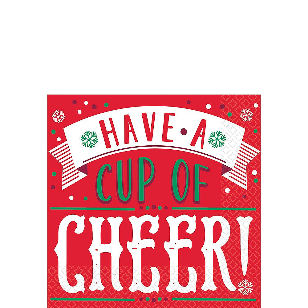 Cup of Cheer Beverage Napkins 16ct Image #1