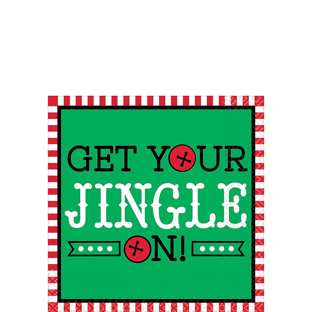 Get Your Jingle On Beverage Napkins 16ct Image #1