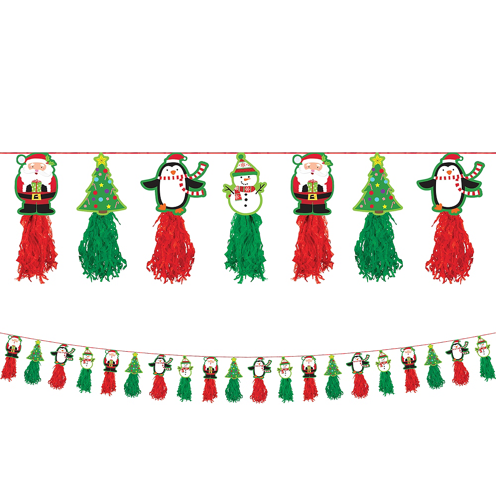 Nav Item for Christmas Tassel Garland Image #1