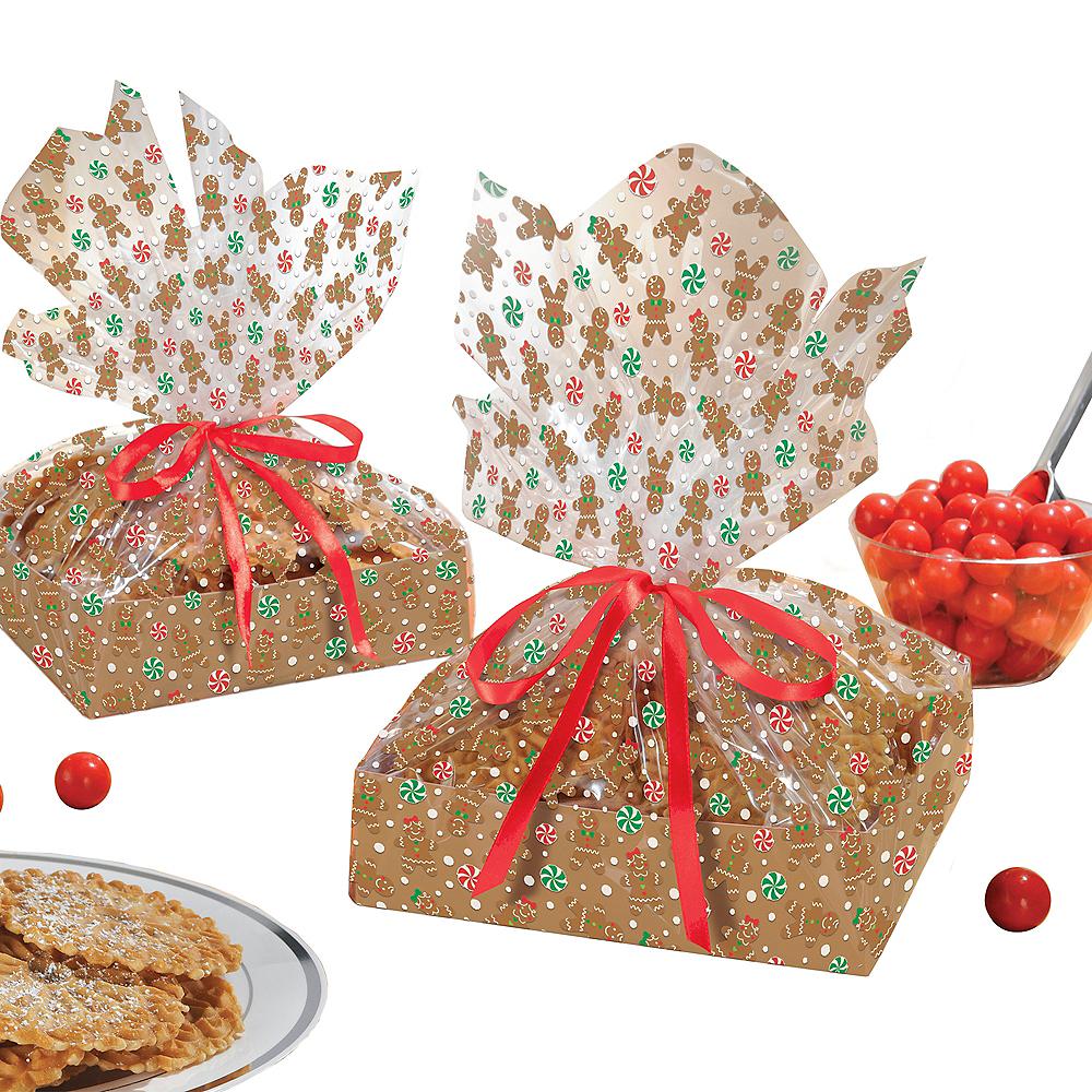 Gingerbread Christmas Treat Trays Kit Image #2