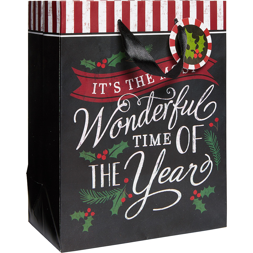 Small Most Wonderful Time Gift Bag Image #1