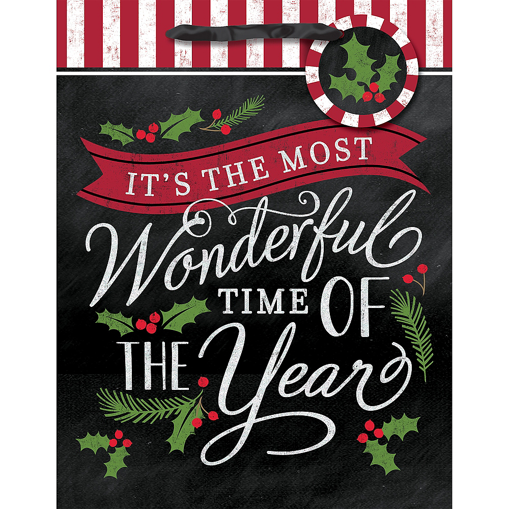 Small Most Wonderful Time Gift Bag Image #2
