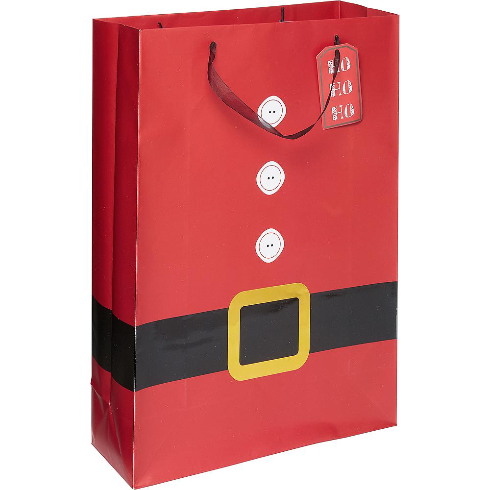 Large Santa Suit Gift Bag Image #1