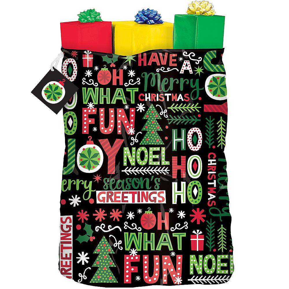 Joyful Holiday Gift Sack Image #1