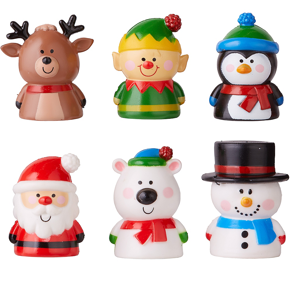 Christmas Finger Puppet Mystery Pack Image #1