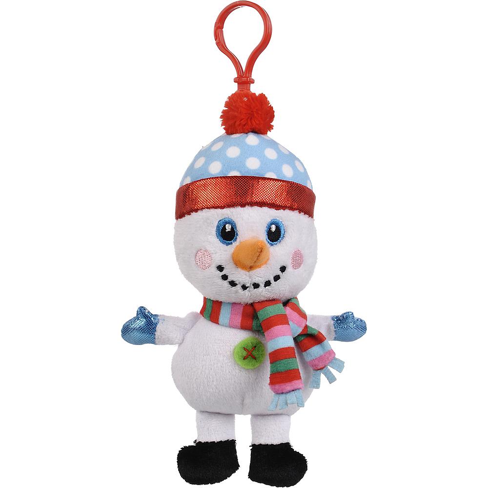 Clip-On Snowman Plush Image #1