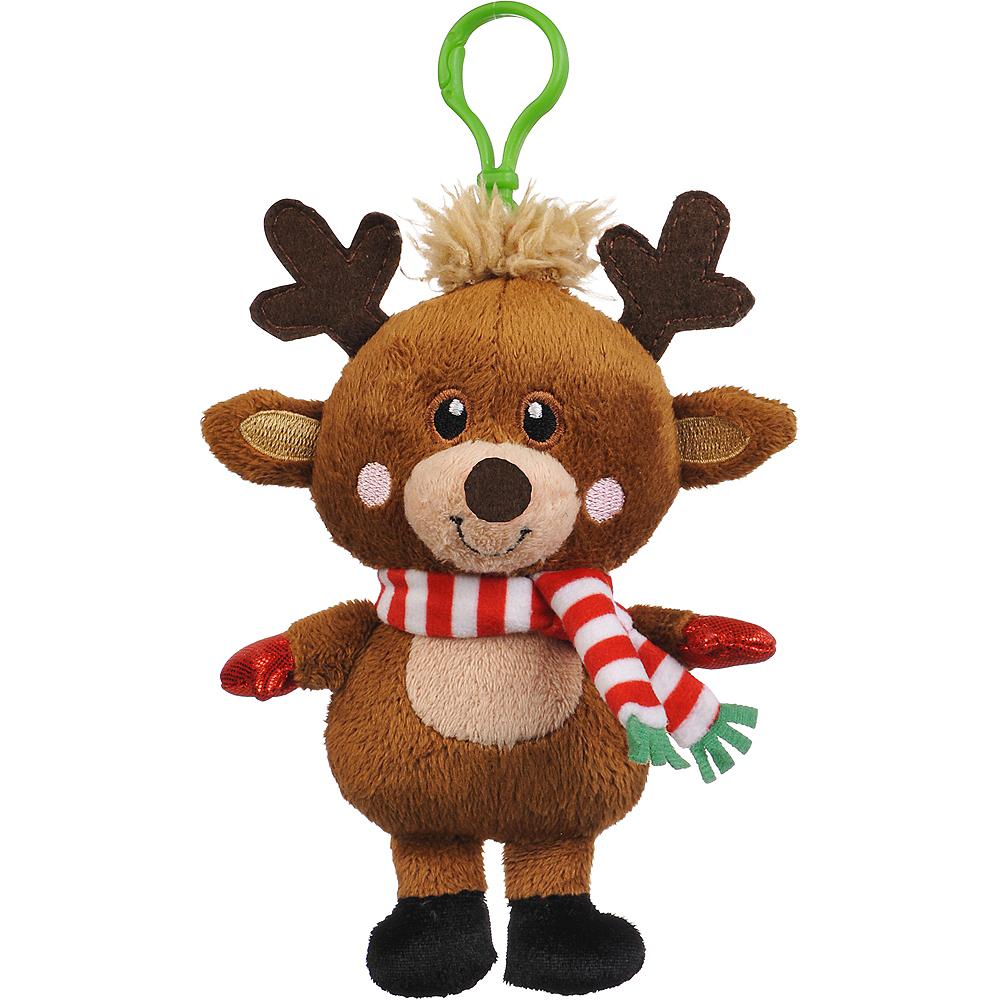 Clip-On Reindeer Plush Image #1
