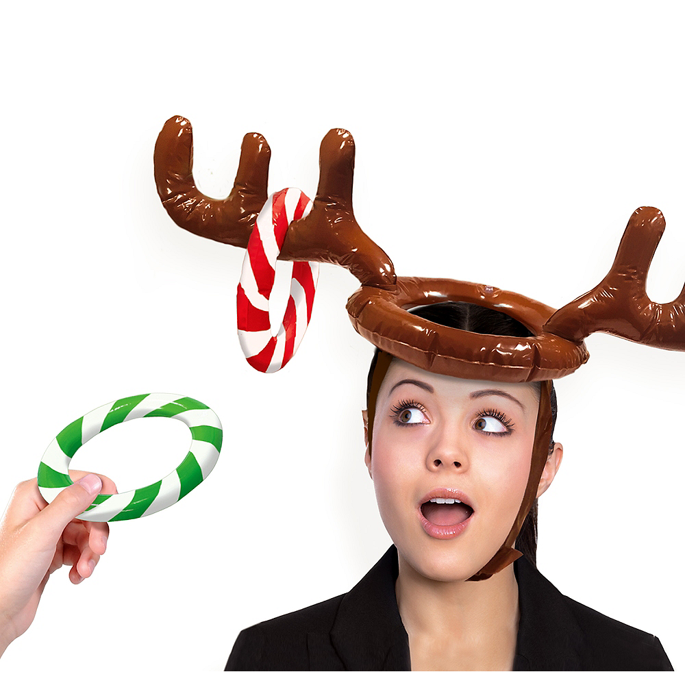 034aa836b006a Inflatable Reindeer Hat Ring Toss Game Image  1 ...