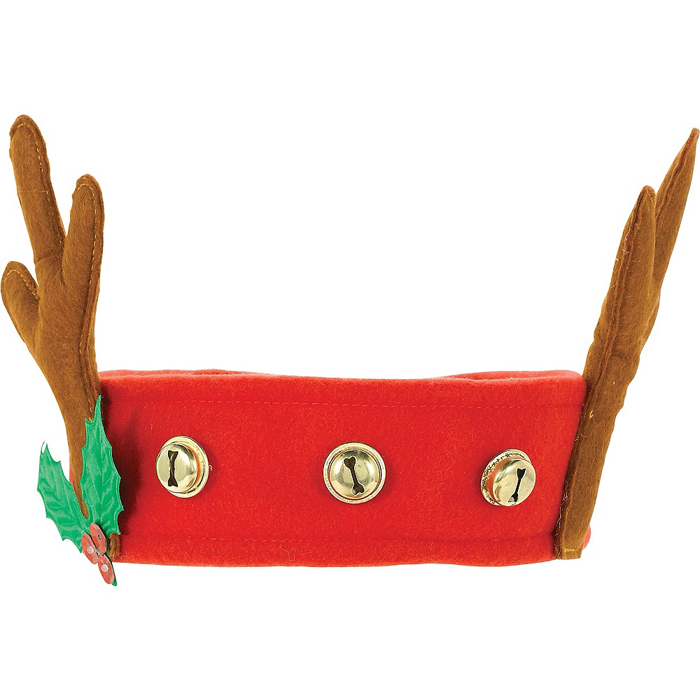Jingle Bell Reindeer Headband Image #1