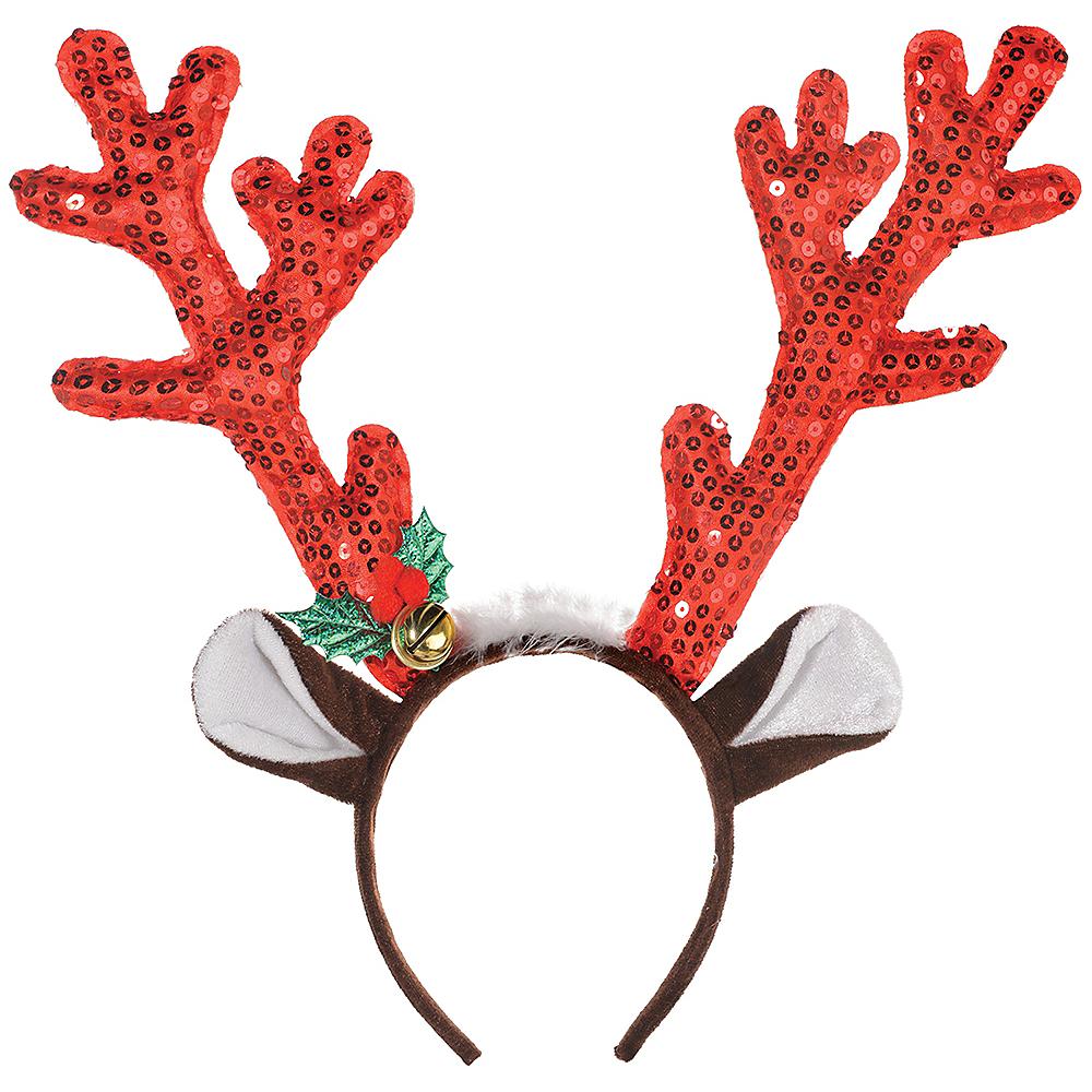 Sequin Reindeer Headband Image #1