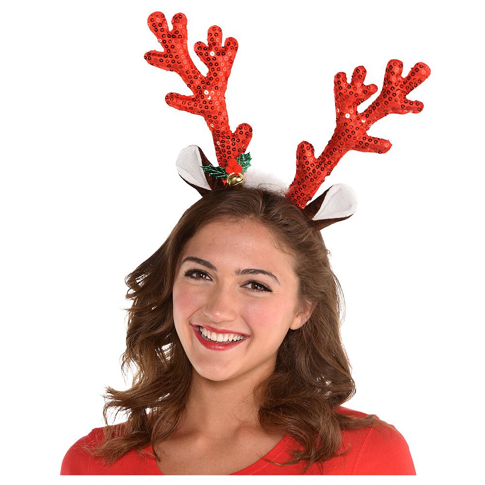 Sequin Reindeer Headband Image #2