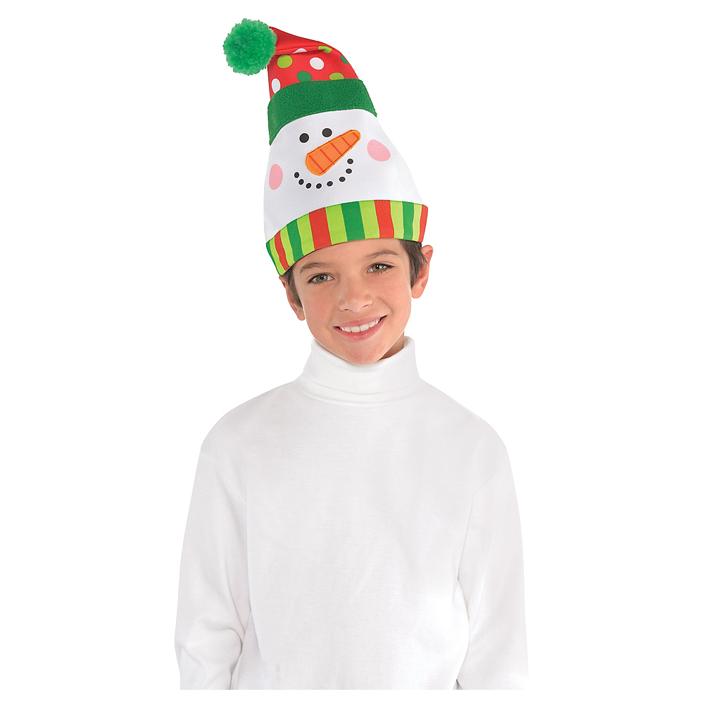 Whimsical Snowman Hat Image #3
