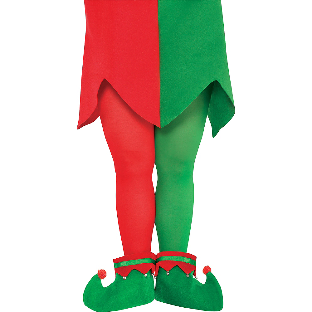 fd7d08feff6bd Adult Elf Tights Plus Size | Party City Canada