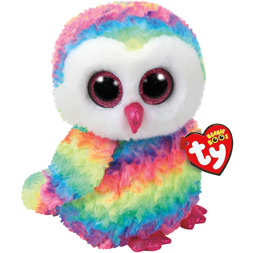 Owen Beanie Boo Owl Plush Image #1