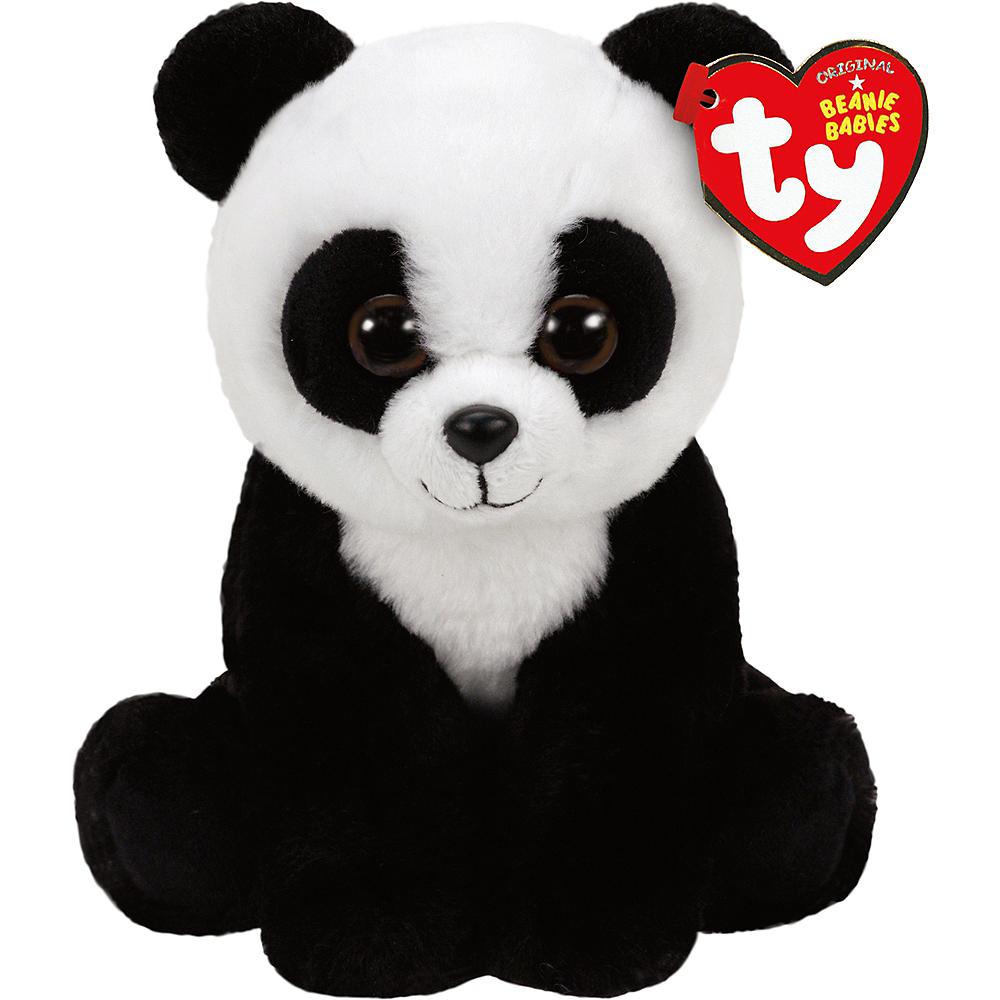 Baboo Beanie Babies Panda Plush 3 1 8in x 7 1 2in  72bf39d7bdc0