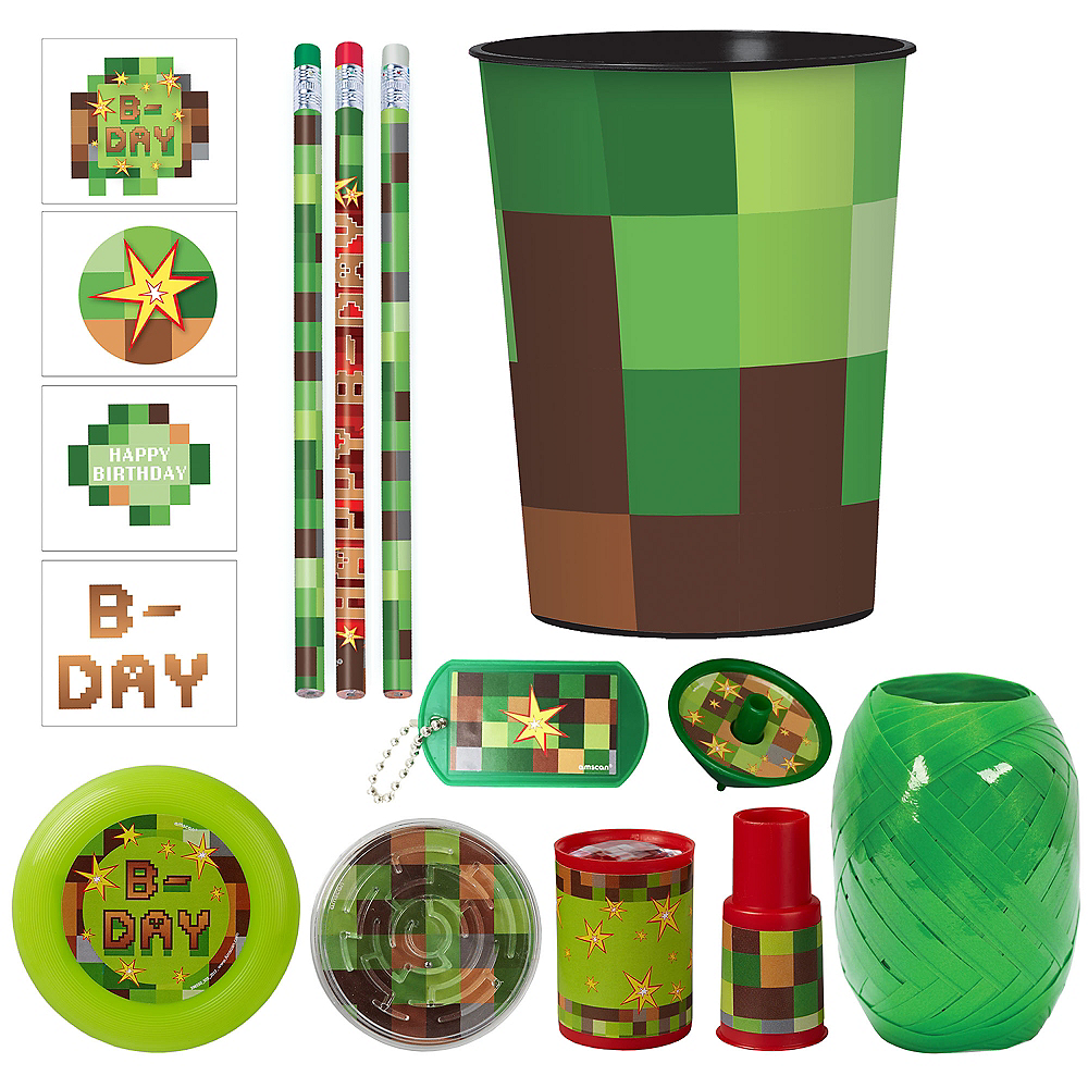 Pixelated Super Favor Kit for 8 Guests Image #1