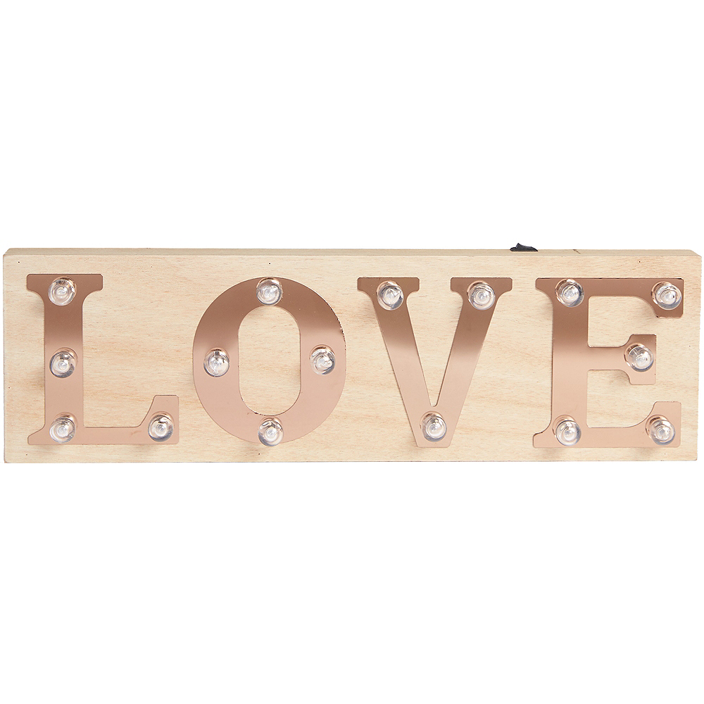 Light-Up Love Marquee Sign Image #2