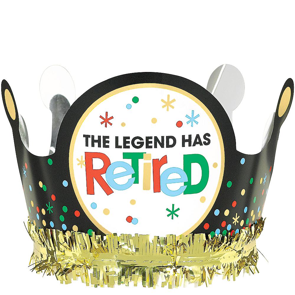 Happy Retirement Celebration Crown Image #1