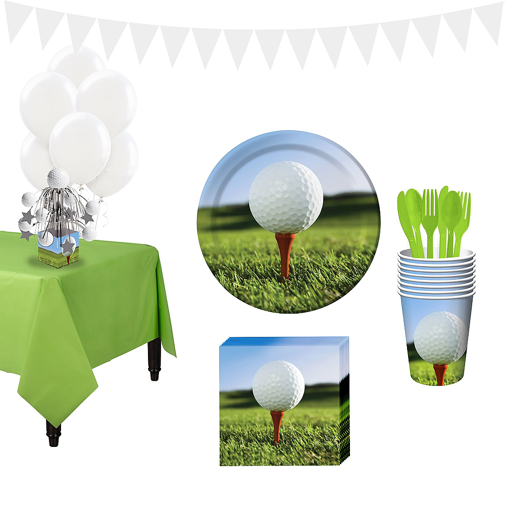 Golf Super Tableware Kit for 16 Guests Image #1