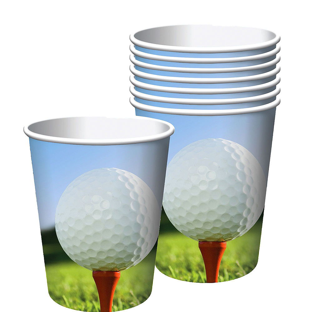 Golf Super Tableware Kit for 16 Guests Image #4