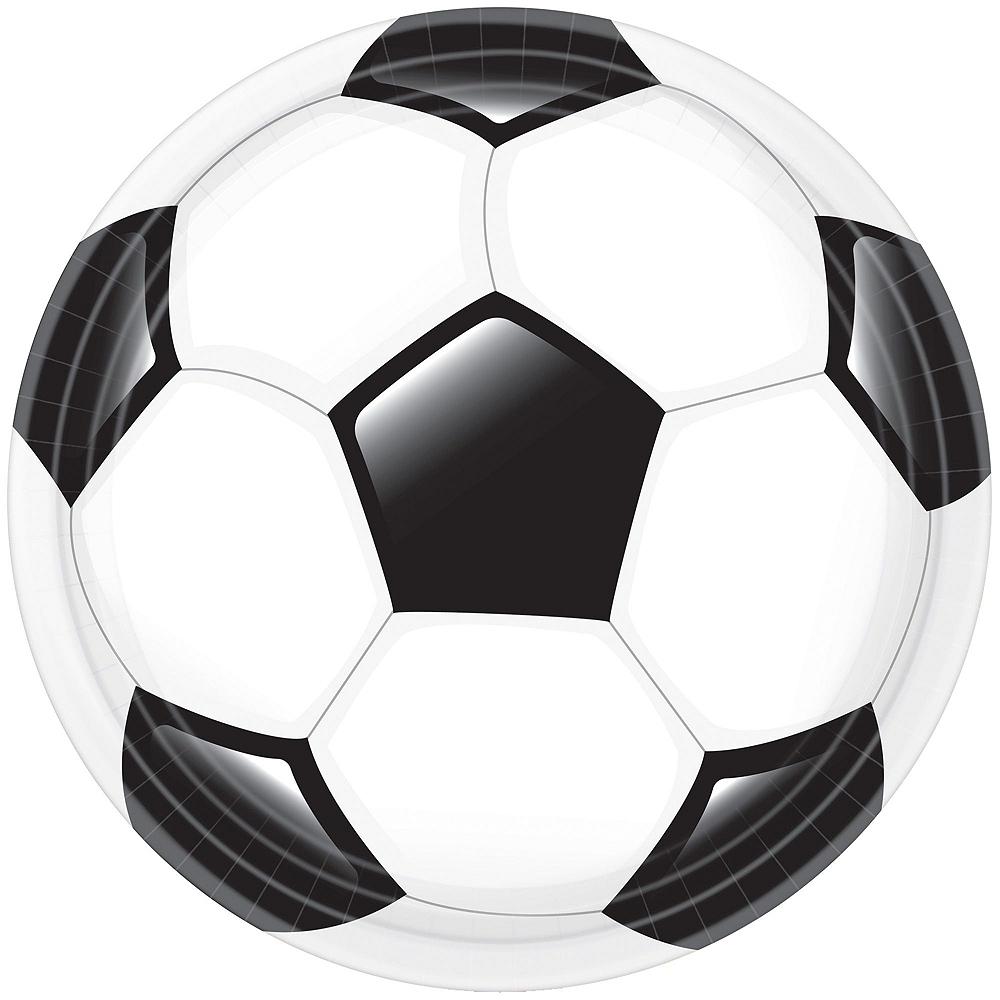 Soccer Basic Tableware Kit for 8 Guests Image #2